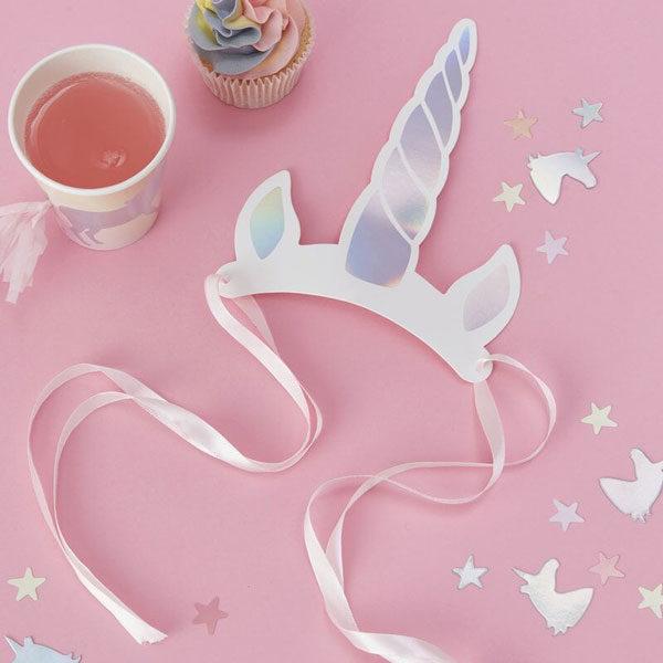 feesthoedjes unicorn make a wish
