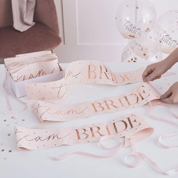sjerpen team bride blush hen party