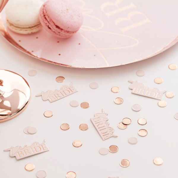 tafelconfetti team bride blush hen party