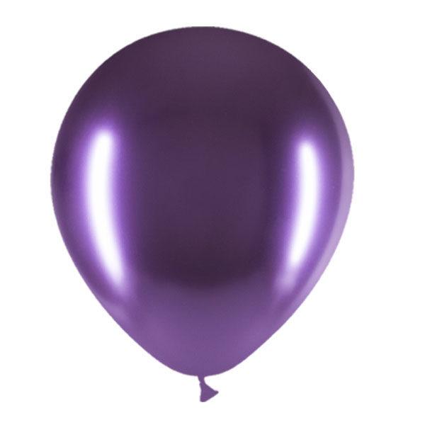 paarse chroom ballonnen alternatief