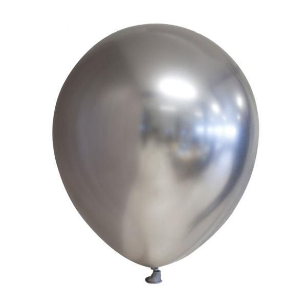 zilveren chroom ballonnen alternatief