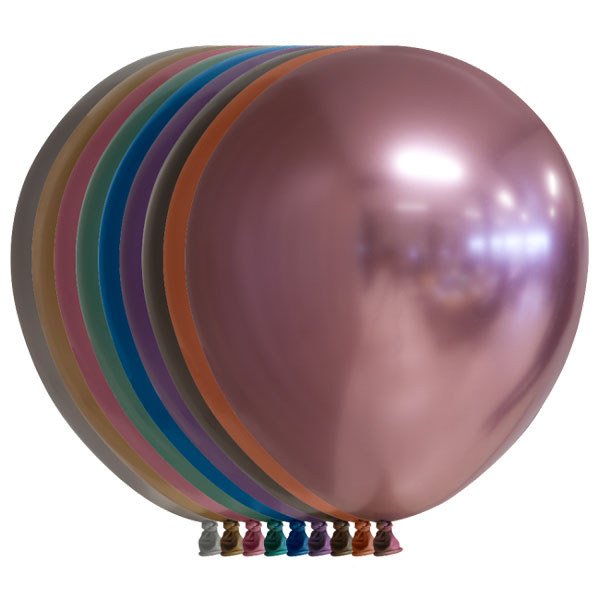 mixed chrome ballonnen