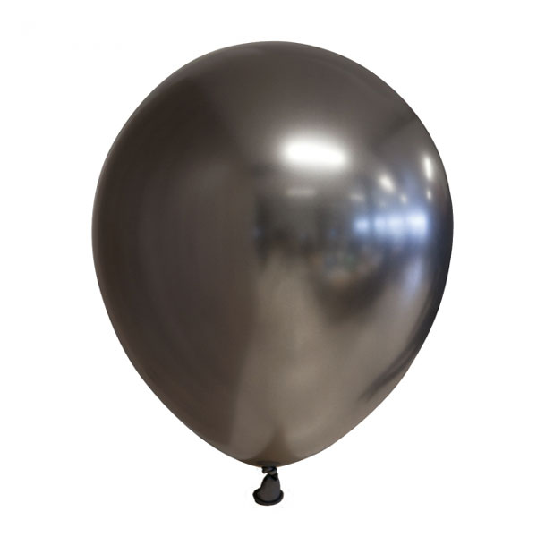 space grey chrome ballonnen