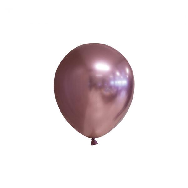 chrome rose gouden ballonnen 13cm