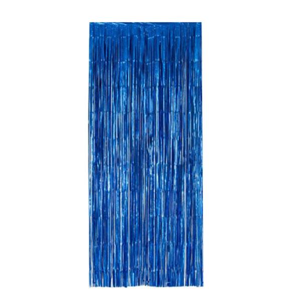 feestgordijn blauw