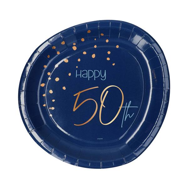 borden 50 jaar elegant true blue