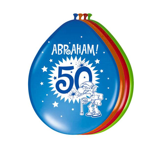 abraham 50 jaar ballonnen