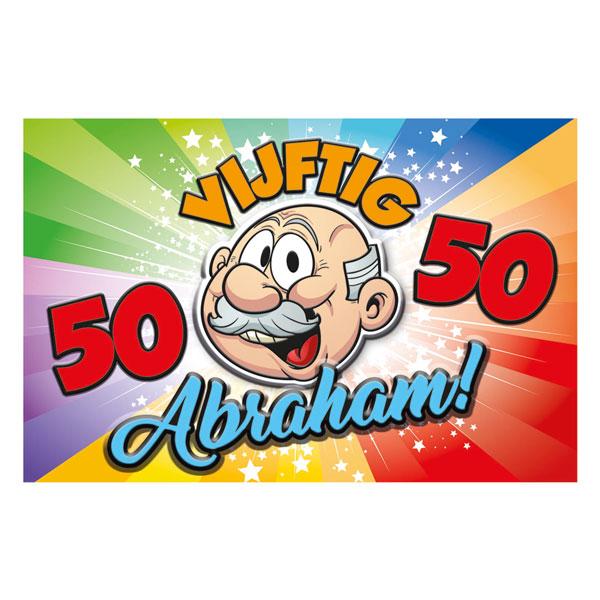 abraham deurbord 50 jaar