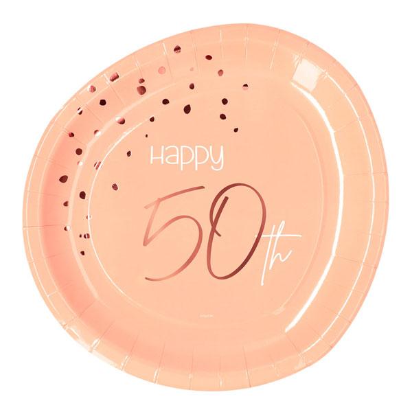 borden 50 jaar elegant lush blush