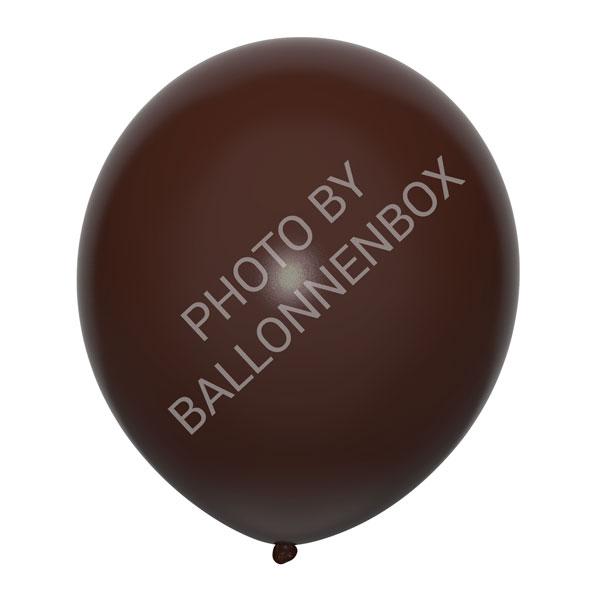 donkerbruine ballonnen 30cm